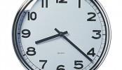 Il quadrante dell'orologio