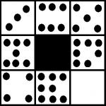 quadrato punti